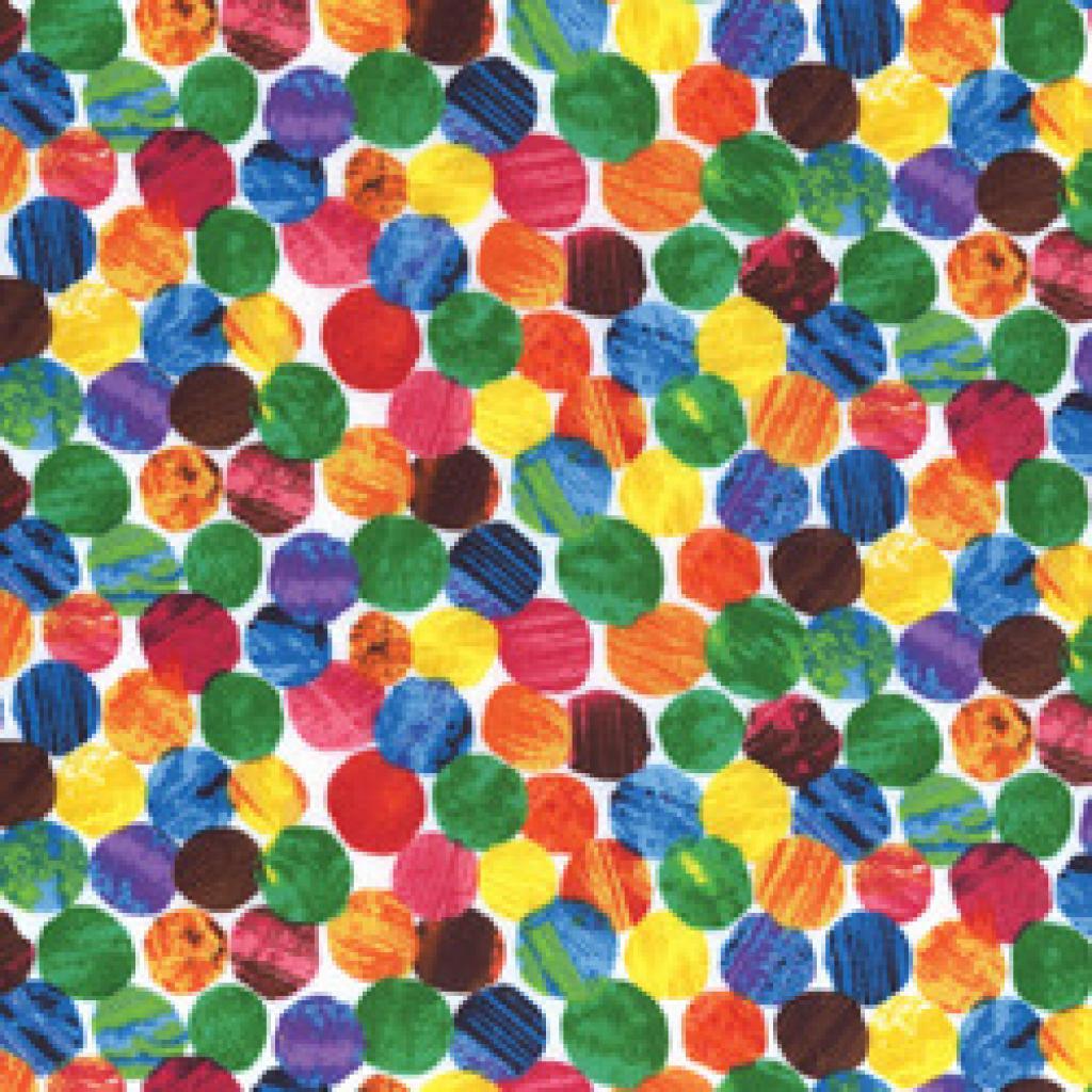 A Very Hungry Caterpillar Dots 32 00 Kiwithreadz